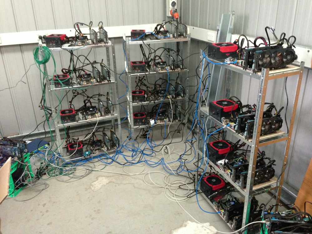 Backshed Litecoin Farm mod
