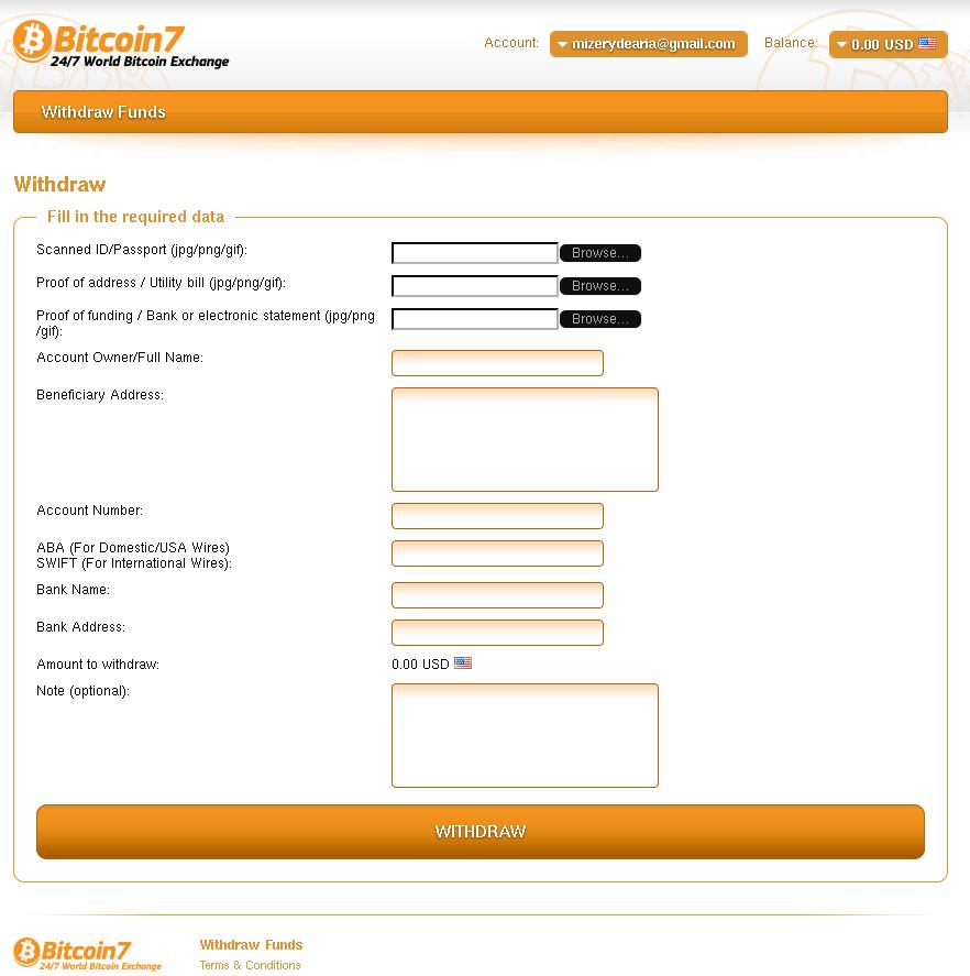 Bitcoin 7 Exchange mod