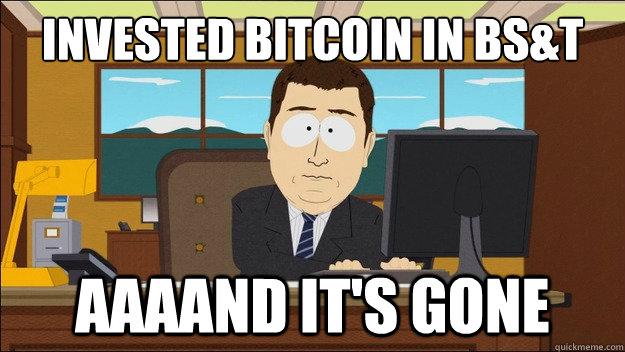 Bitcoin Savings and Trust mod