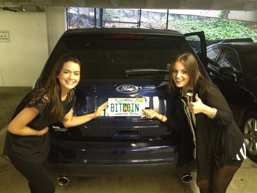 Vanity Sisters Bitcoin Plate mod