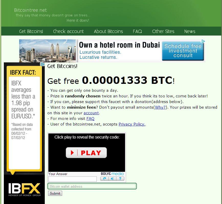 Bitcoin Tree mod