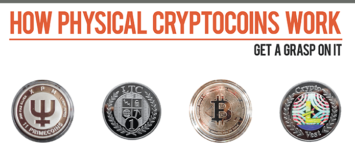 How physical cryptocoins work [infographic]