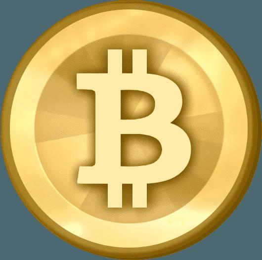 Basic Bitcoin Coin Graphic