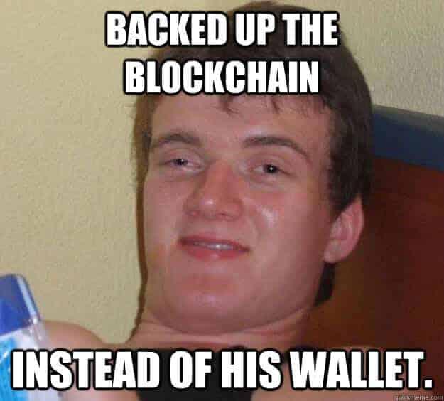 Bitcoin Backup