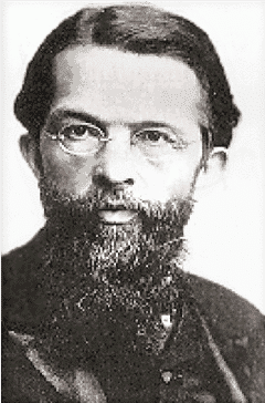 "Carl Menger, the ""father"" of the Austrian school of economics."
