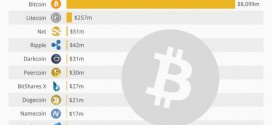 How Bitcoin compares to other cryptocurrencies [infographics]