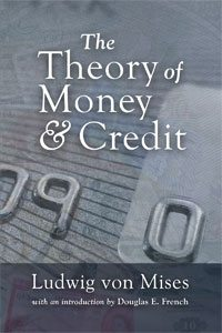 Mises identified the role of government in the market in treatise on monetary theory. The Theory of Money and Credit