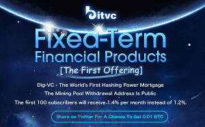 Dig-VC's Crypto Fixed-Term Financing