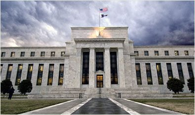 The United States Federal Reserves operates a massive fractional-reserve banking system