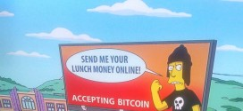 """The Simpsons feature a special Bitcoin """"advert"""""""