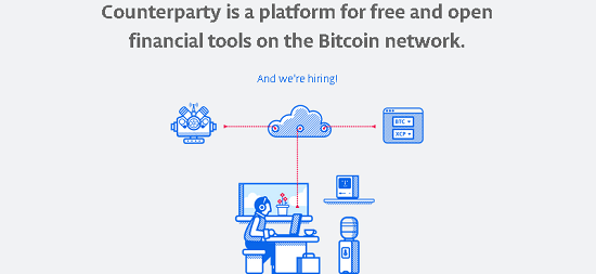 Counterparty is a Decentralized Financial Platform