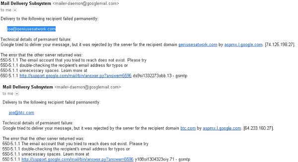 Joe Mordica Gaw Email