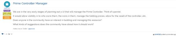 Josh Garza Needs Community Developers