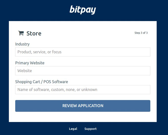 bitpay how to receive bitcoins