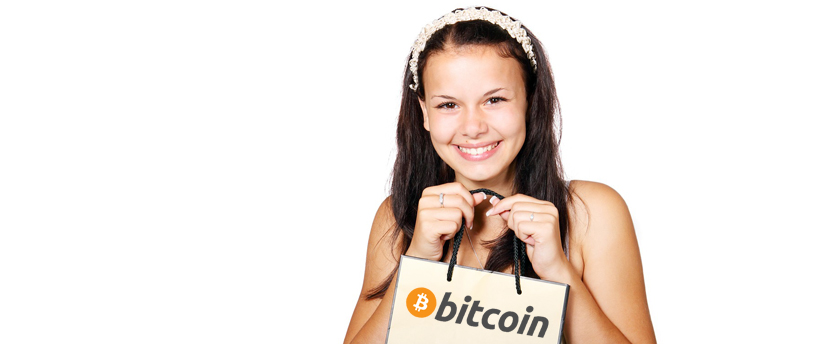 shopping with bitcoin