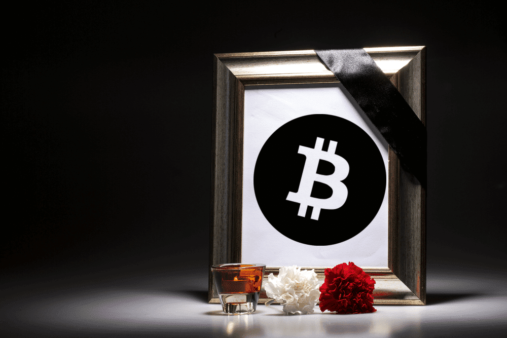Image result for bitcoin obituary 99bitcoins