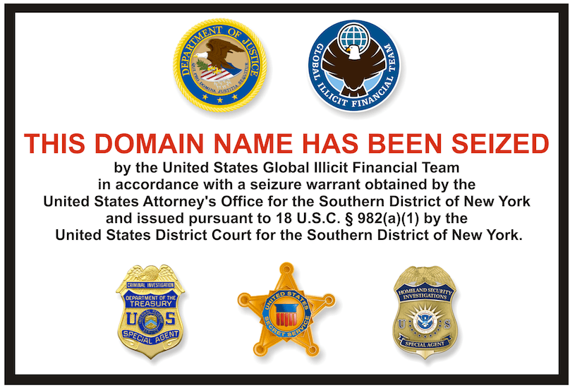 Liberty Reserve Domain has been seized
