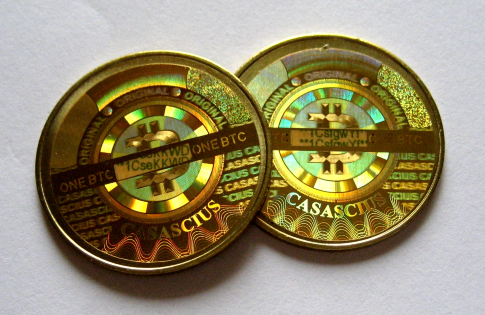 Meet Casascius The Physical Bitcoins With A Real Value