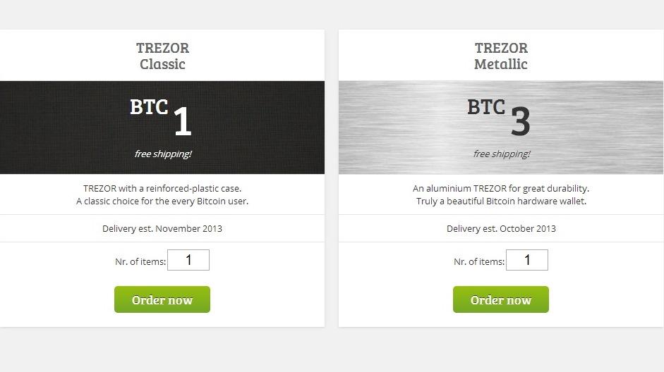 how to send bitcoin to trezor