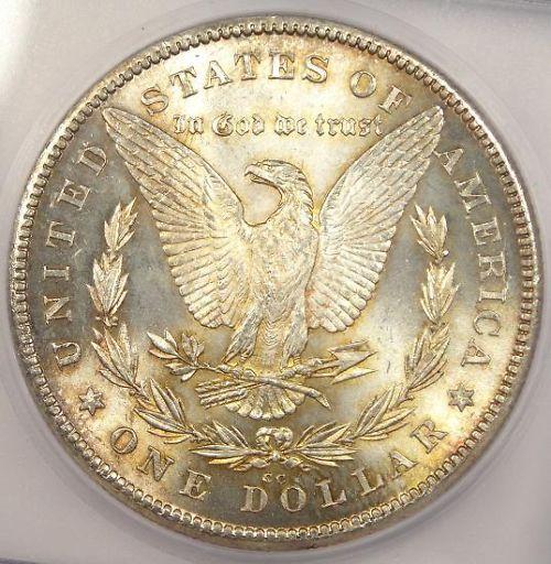 1891-CC Silver Morgan Dollar mod