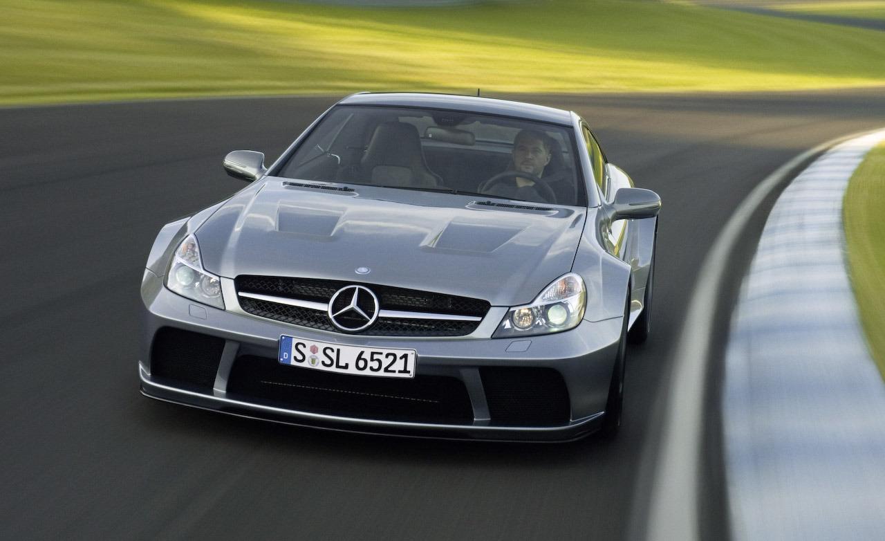 A 2009 Mercedes-Benz SL65 AMG BLACK mod