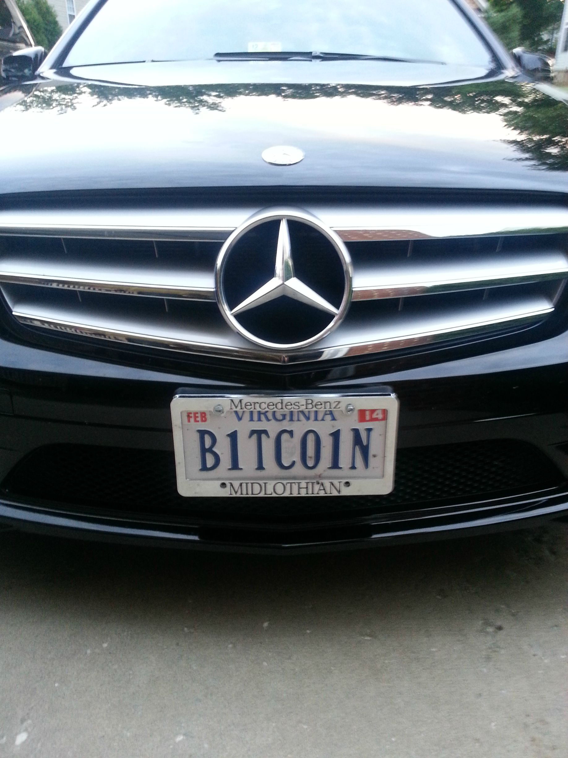cool bitcoin mercedes