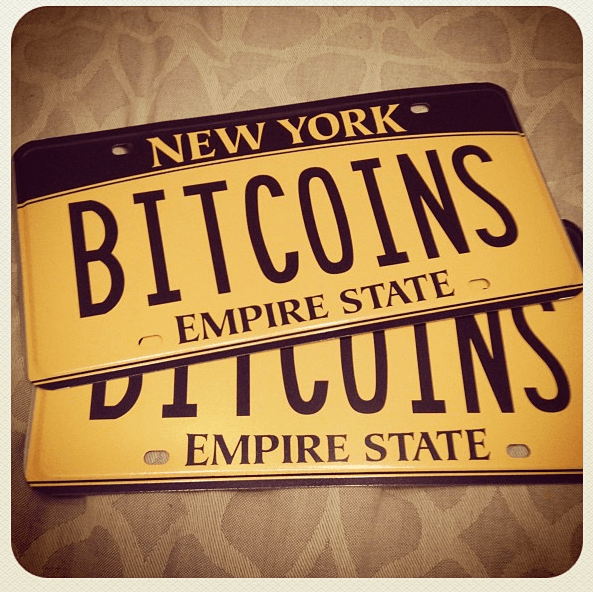 Some cool Orange Bitcoin Plates mod