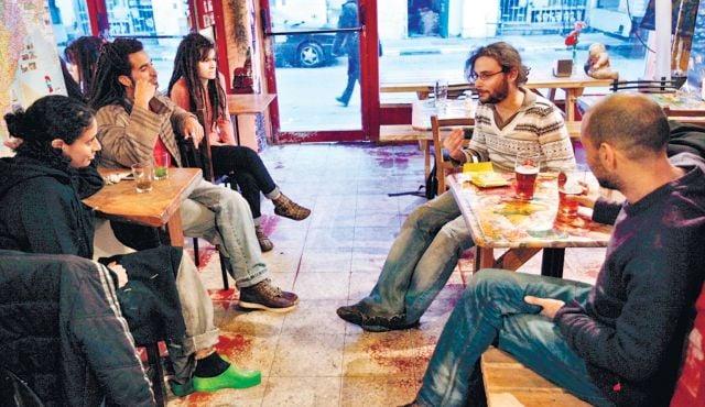 Bar Kayma Tel Aviv mod