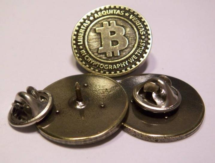Bitcoin Jacket Buttons mod