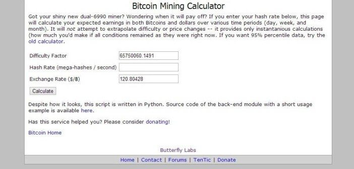 16 Awesome and useful Bitcoin calculators