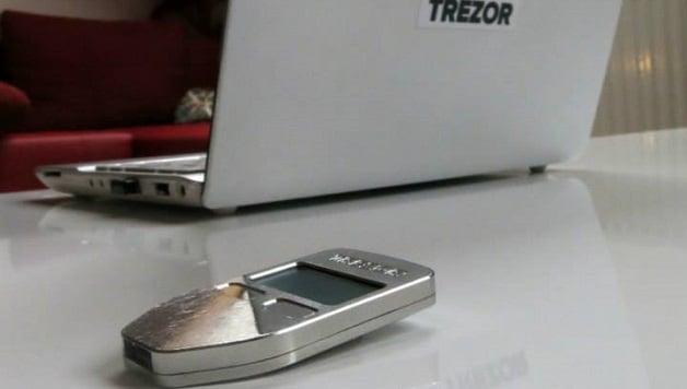 TREZOR-Bitcoin-Wallet