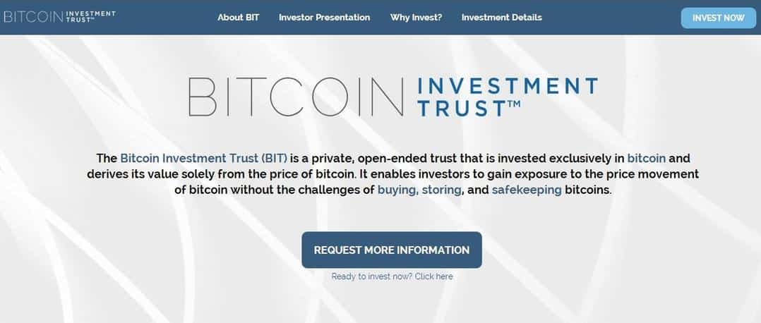 SecondMarket launches private Bitcoin investment trust