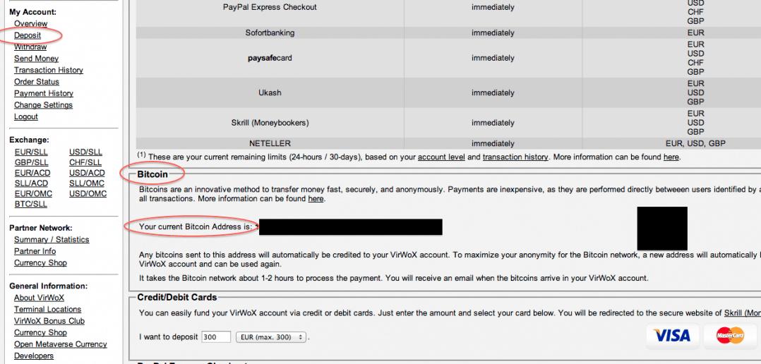 Virwox Send Bitcoin Litecoin Payout Time