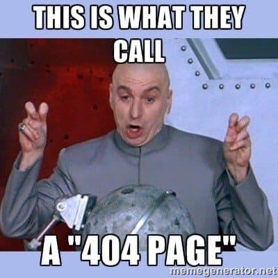 404 page meme