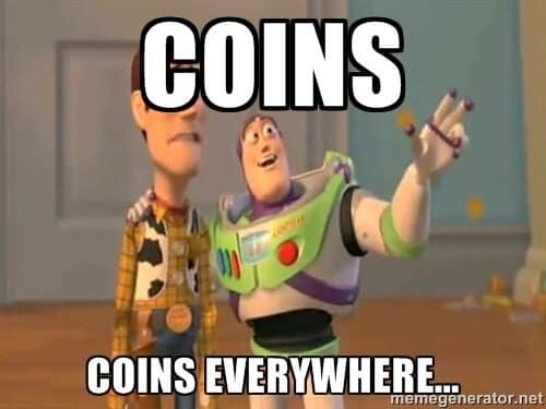 Altcoins everywhere