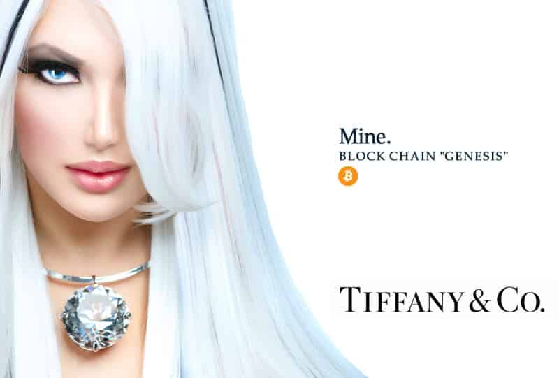 Tiffany & Co Bitcoin Ad