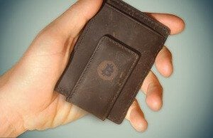 Bitcoin wallet front