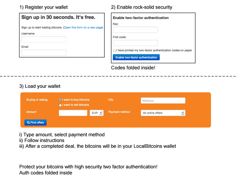 register bitcoin wallet