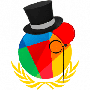 Reddcoin with a monacle