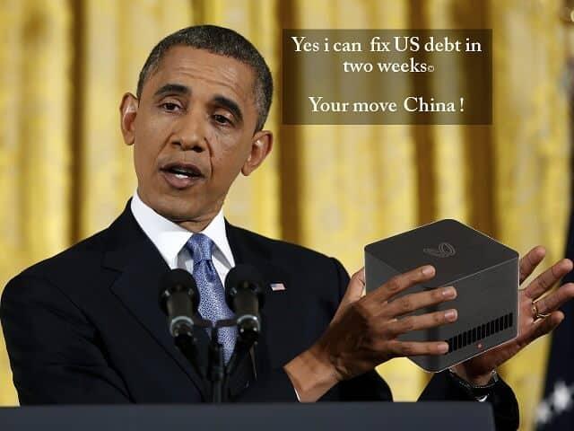 Obama Bitcoin Debt
