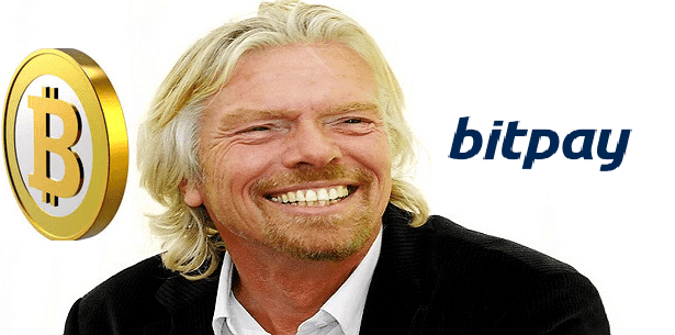 bitcoin investors Richard Branson BitPay
