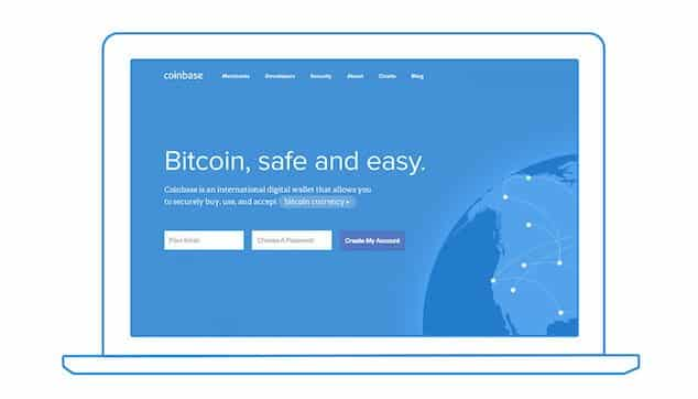 Bitcoin can be purchased directly from Coinbase