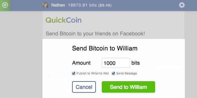 QuickCoin transaction