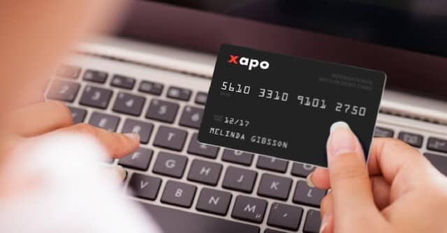 Bitcoin Debt Card by Xapo