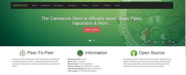 Cannacoin Shop