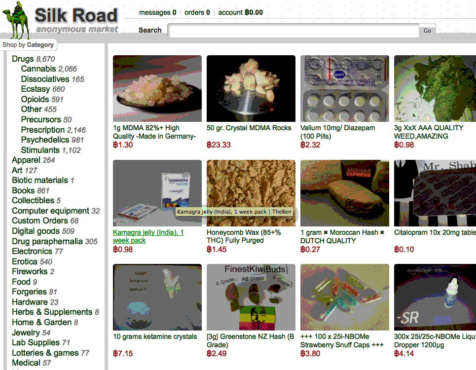 "Study: Silk Road Was A ""Paradigm Shift"" In Drug Trade"