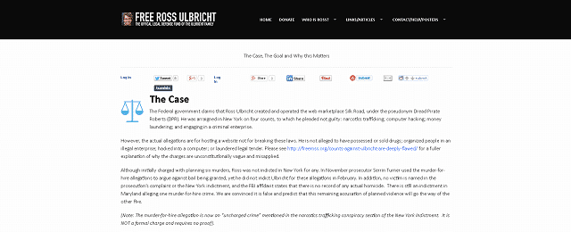 Ross Ulbricht Bitcoin Silk Road Case