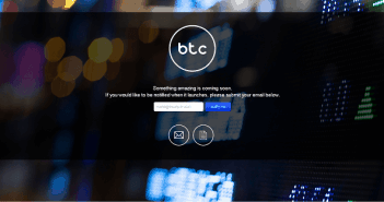 BTC.com homepage on Coin Brief