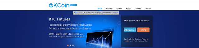 Bitcoin Exchange OKCoin Reserves at 104%