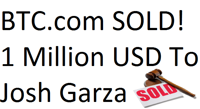 bitcoin domain name btc sold